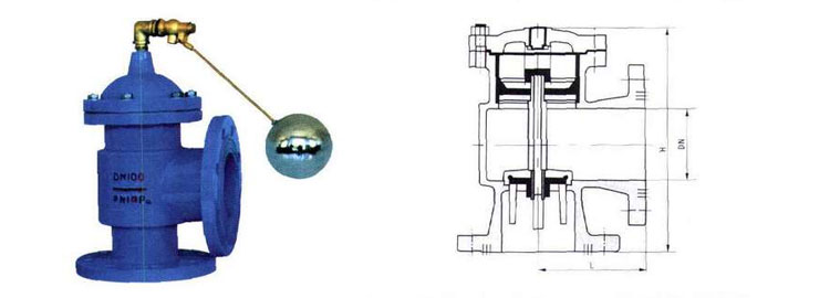 H142X液压水位控制阀将该阀垂直固定在进水管上,然后将控制管、截止阀和浮球阀连接旋紧在该阀上即可。该阀进水管和出水管连接法兰H142X-4T-A为0.6MPa标准法兰;H142X-10-A为1MPa标准法兰。进水管直径应大于或等于阀门公称通径,出水口应低于浮球阀。浮球阀安装应距离水管一米以上;在水箱内出水管高于水位线处钻一小孔,以防直空回水。使用时,截止阀应全开,如同一水池安装二只以上阀则应保持同一水平面。液压水位控制阀因主阀关闭要滞后浮球阀关闭约30~50秒,故水箱要有足够的空余容积,以防溢水。为